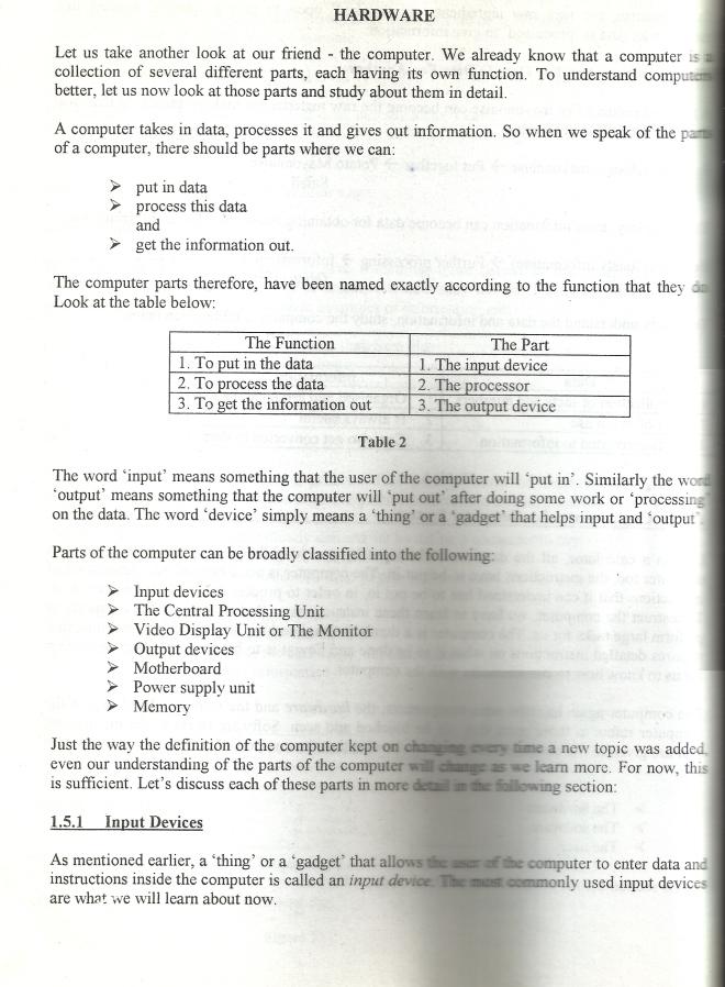Computer Basic Course Notice (Part 1) Salariaboy