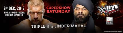 wwe come in India full fights